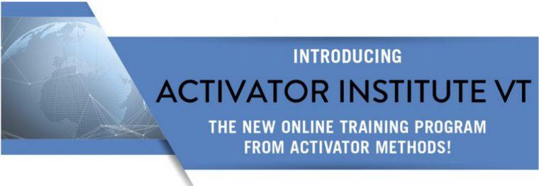 Interactive Activator Methods Training